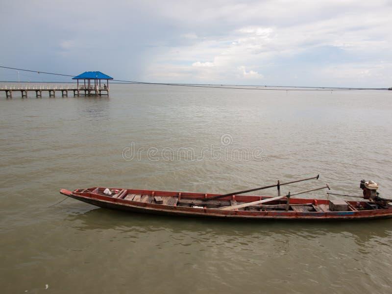 Lokale Fischerboote lizenzfreie stockbilder