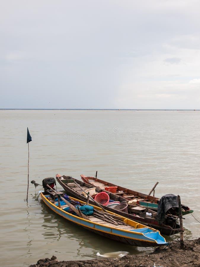 Lokale Fischerboote stockfotos