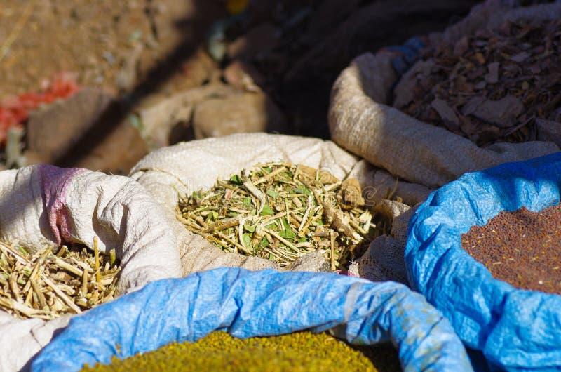 Lokale Körner für Verkauf in Lalibela stockfotografie
