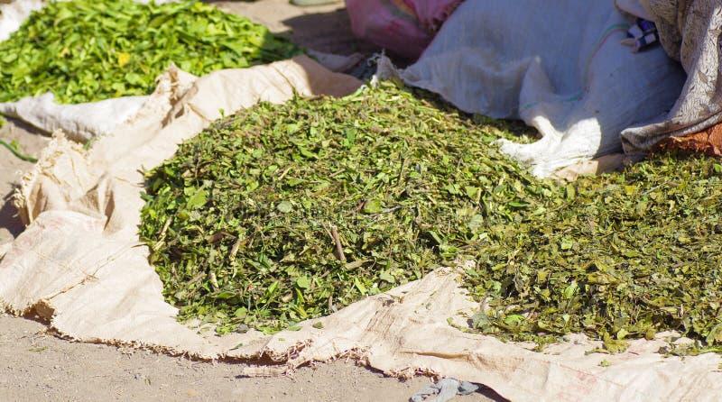 Lokale Körner für Verkauf in Lalibela lizenzfreie stockbilder