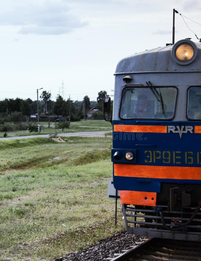 lokaler Passagiertransport des Diesels lizenzfreie stockbilder