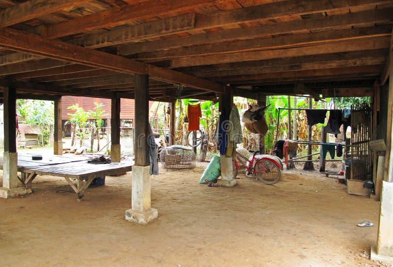 Lokales Leben in Laos lizenzfreie stockfotografie