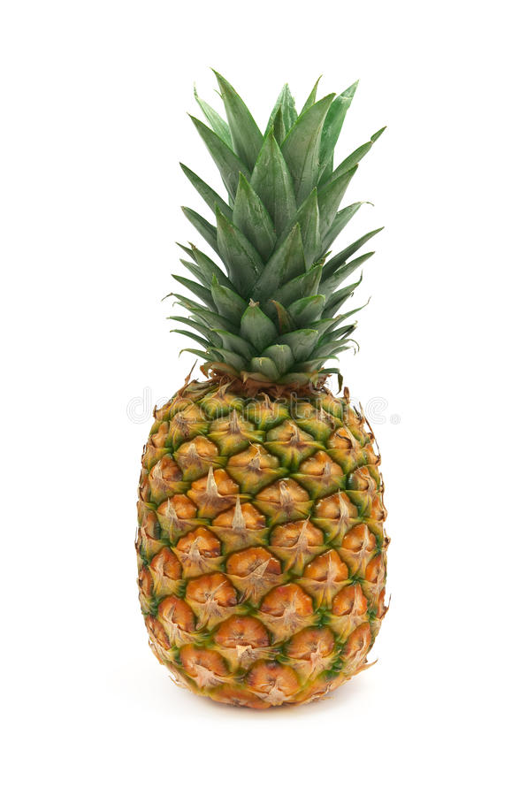 Lokalisierte Ananas stockfotos