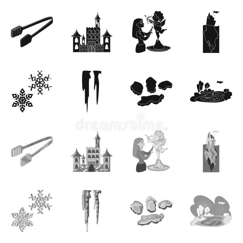 Lokalisierter Gegenstand der Beschaffenheit und des gefrorenen Logos Stellen Sie von der Beschaffenheit und von der transparenten vektor abbildung