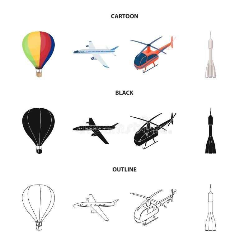 Lokalisierter Gegenstand der Transport- und Gegenstandikone Stellen Sie vom Transport und von gleitener Vektorillustration auf La lizenzfreie abbildung