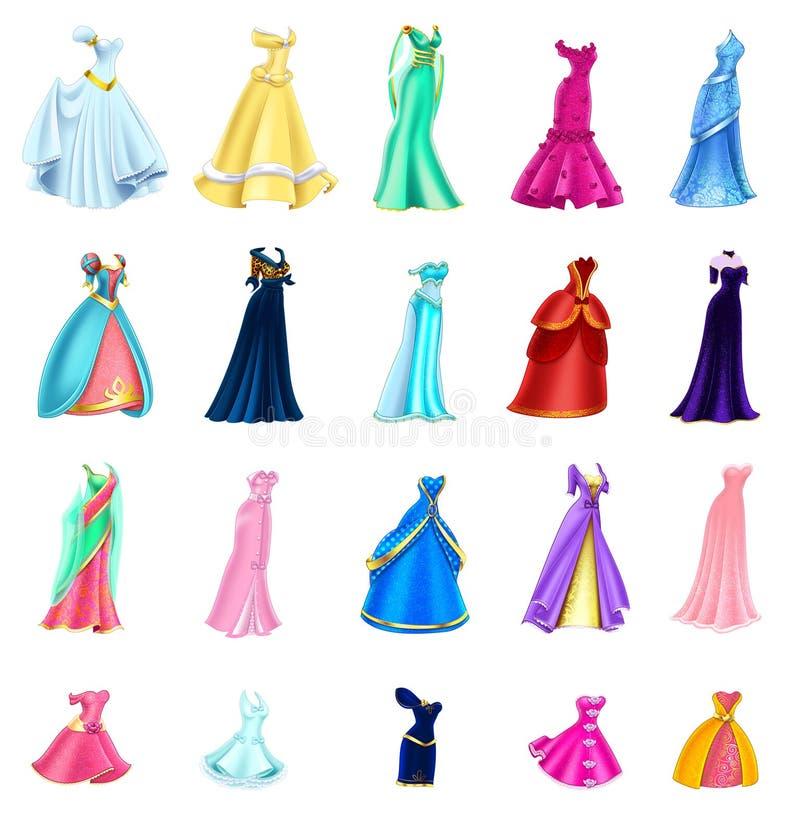 Lokalisierter Kleidervorrat stockbilder