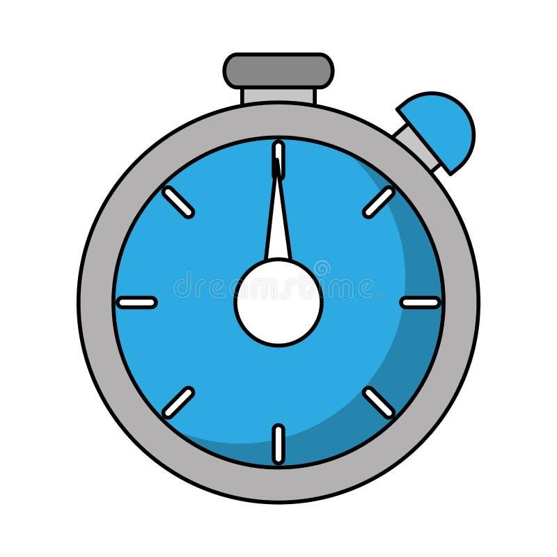 Lokalisiertes Chronometerwerkzeugdesign vektor abbildung