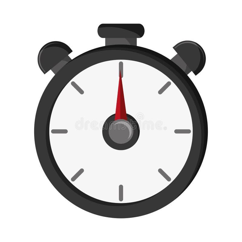 Lokalisiertes Chronometerwerkzeugdesign stock abbildung