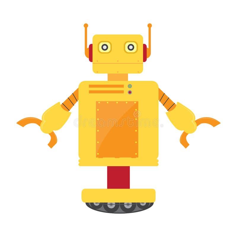 Lokalisiertes Roboterspielzeug - Vektor