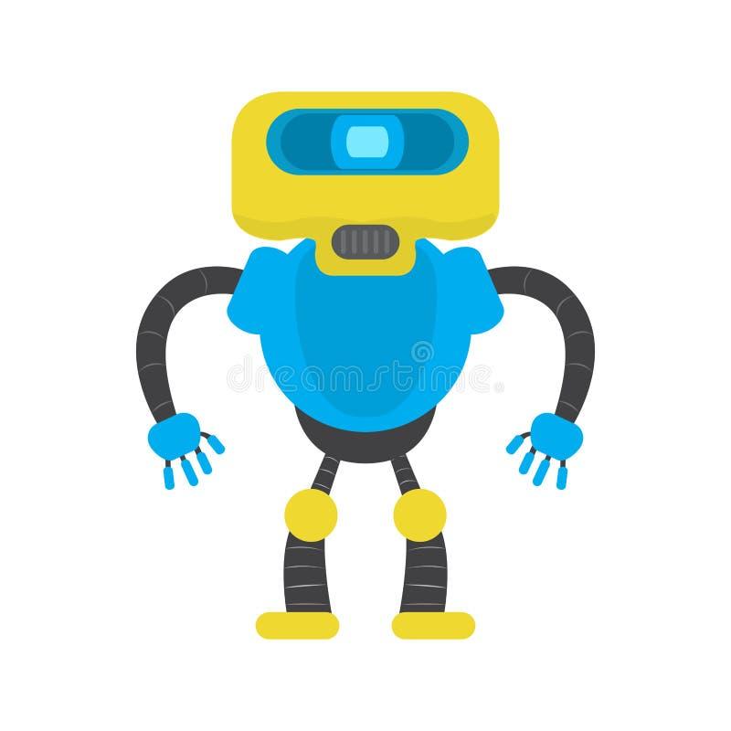 Lokalisiertes Roboterspielzeug - Vektor lizenzfreie abbildung