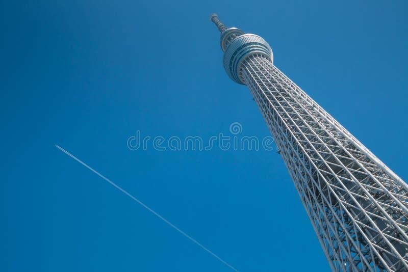 634 lokalizować metrów nieba sumida Tokyo basztowego drzewa tv oddział fotografia royalty free