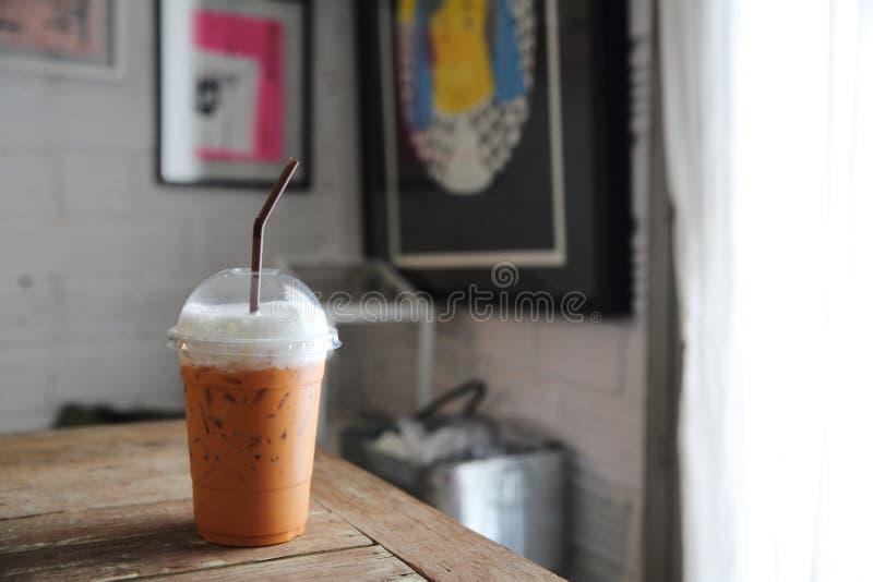 Lokalna karmowa Tajlandzka lukrowa herbata fotografia royalty free