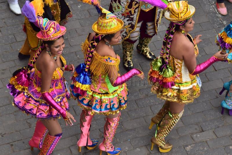 Lokalni świętowania i kolorowi ubrania zdjęcia stock