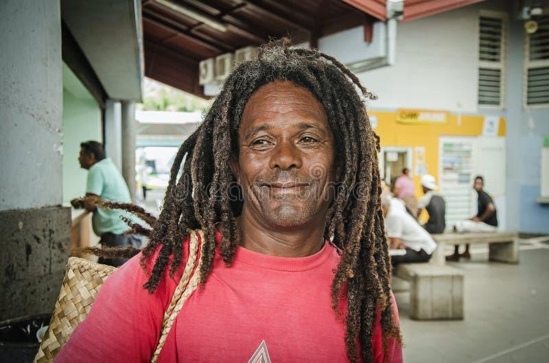 Lokalny creole mężczyzna fotografia royalty free