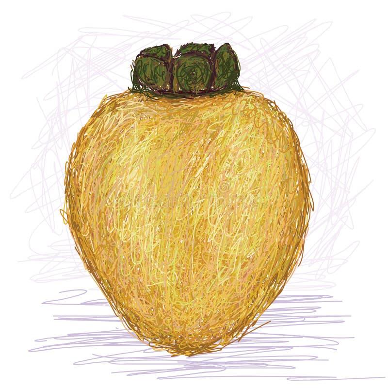 Download Lokalny jabłko ilustracja wektor. Ilustracja złożonej z ornamental - 28953614