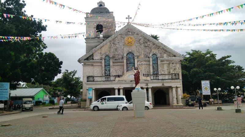 Lokalny kościół w prowinci Leyte obraz royalty free