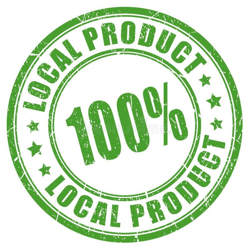 Lokalny produktu wektoru znaczek ilustracja wektor