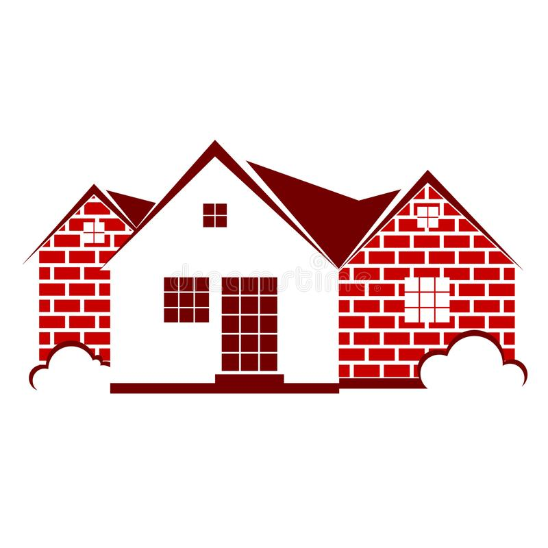 Lokalowy symbolu wektor ilustracja wektor
