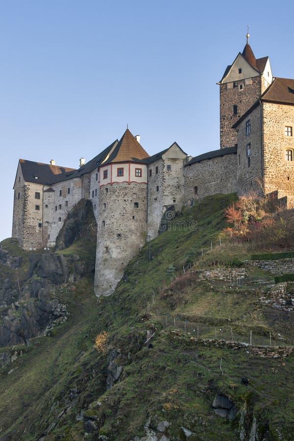 Loket castle, Czech republic royalty free stock photos