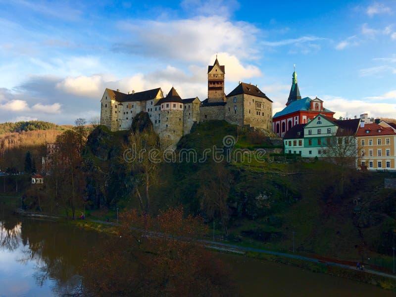 Loket Schloss lizenzfreies stockbild