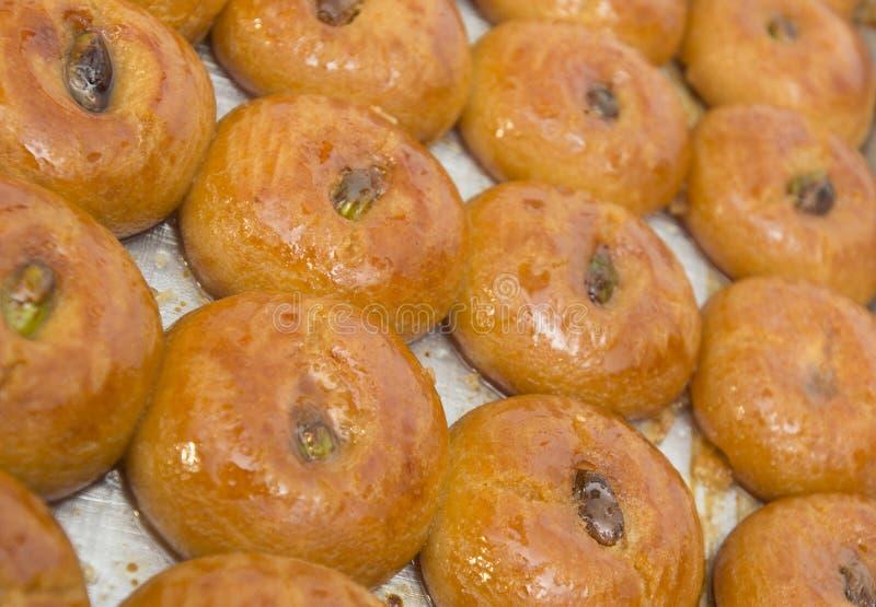 Lokma - παραδοσιακή τουρκική ζύμη στοκ φωτογραφία