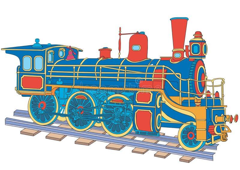 Download Lokomotive vektor abbildung. Illustration von fluggast - 12203216