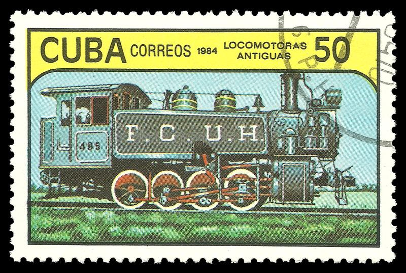Lokomotive im Depot lizenzfreie stockfotos