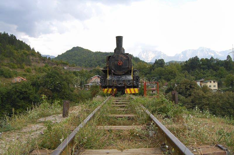 Lokomotive - Jablanica - Bosnien-Herzegowina lizenzfreie stockbilder