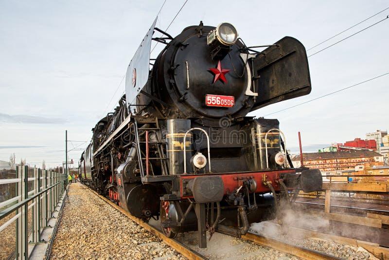 Lokomotive viejo fotografía de archivo libre de regalías