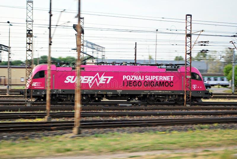 Lokomotoryczny Husarz Siemens obraz royalty free