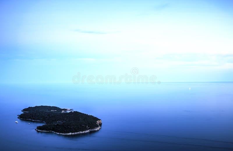 Lokrum Island, Croatia stock photography
