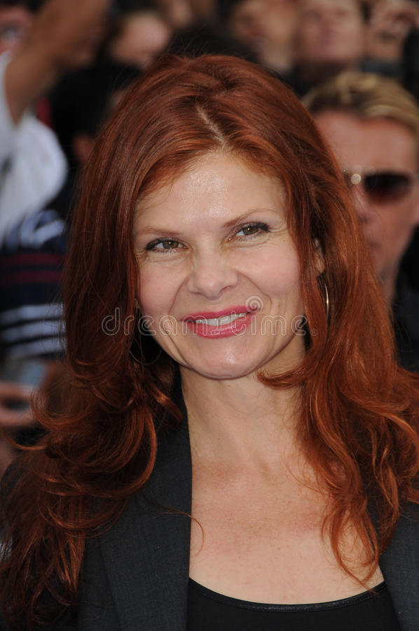Lolita Davidovich. At the 'Oceans' Los Angeles Premiere, El Capitan Theatre, Hollywood, CA. 04-17-10 stock images