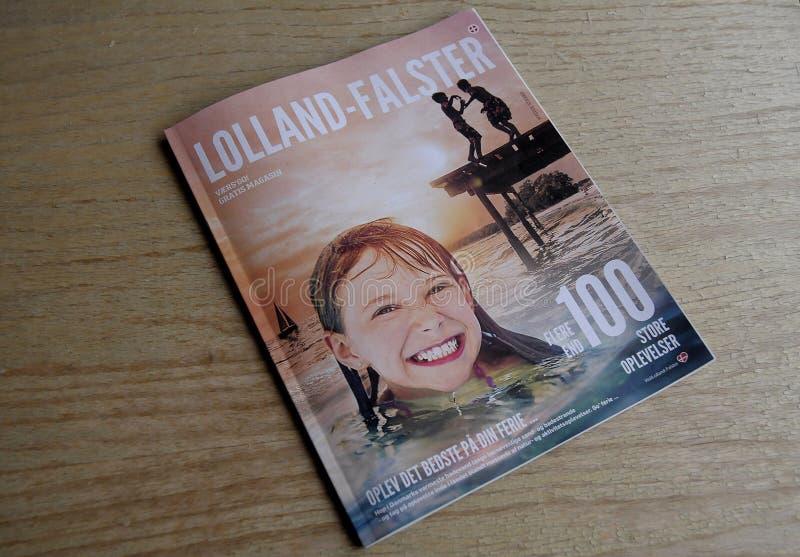 LOLLAND - FALSTER turystów katalog fotografia stock