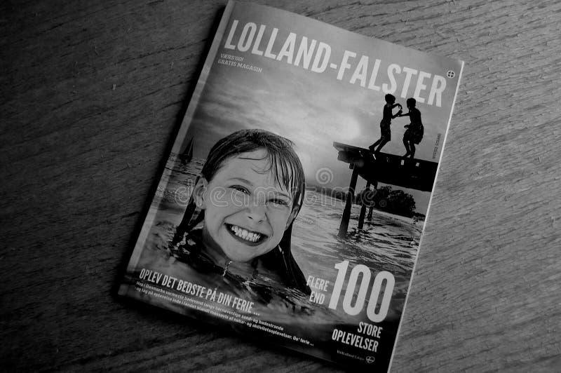 LOLLAND - FALSTER turystów katalog zdjęcie royalty free