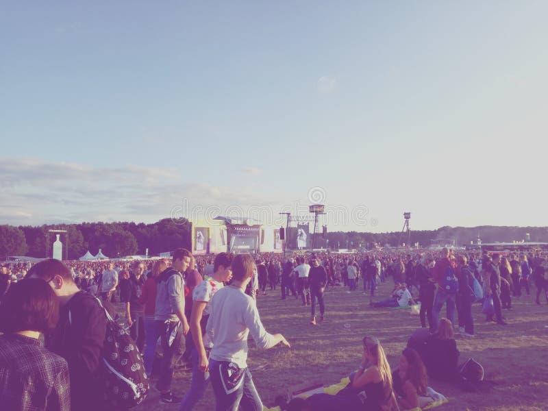 Musikfestival stock photos