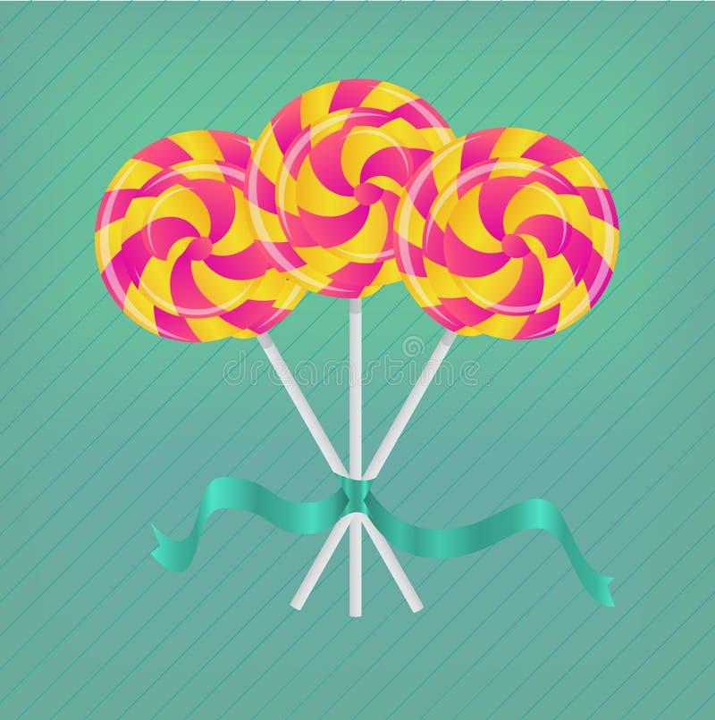 Lollipop с тесемкой бесплатная иллюстрация