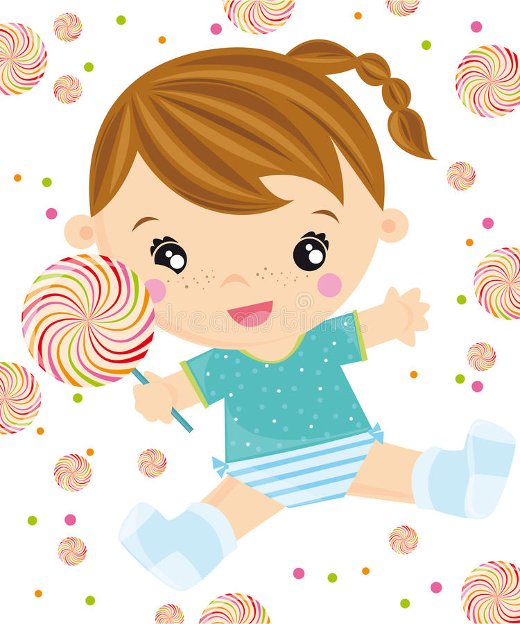 Lollipop vector illustration