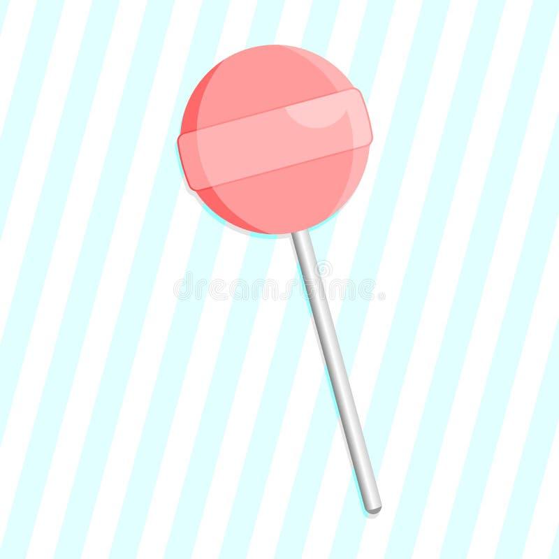 Lollipop ilustração do vetor