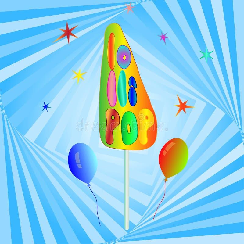 lollipop διανυσματική απεικόνιση