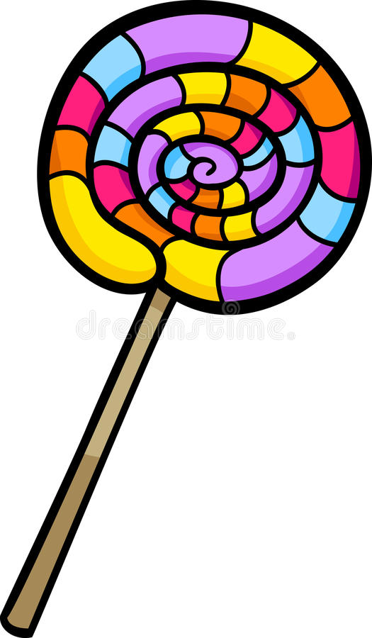 lollipop clip art cartoon illustration stock vector illustration rh dreamstime com lollipop clipart svg lollipop clipart svg