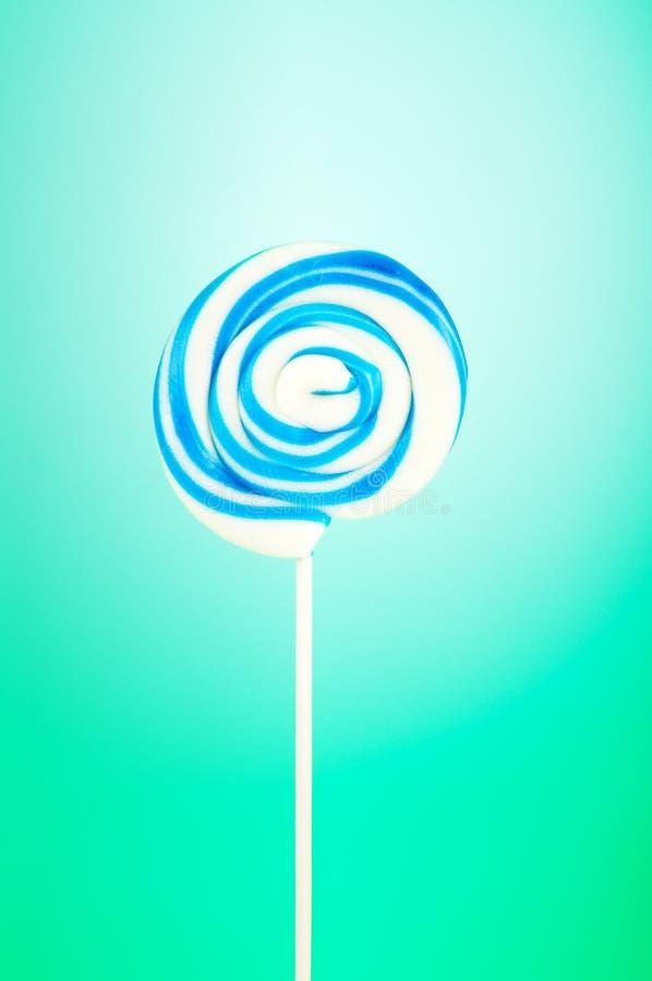 Lollipop colorido fotografia de stock royalty free