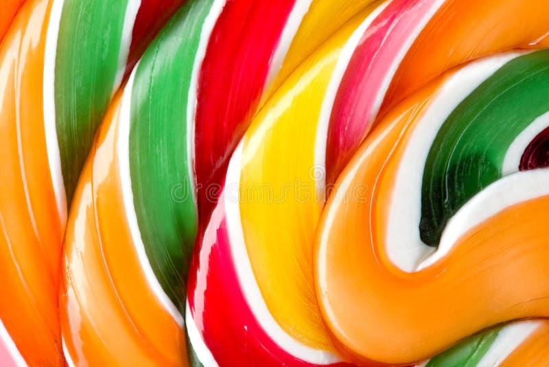 Lollipop colorido grande foto de archivo libre de regalías