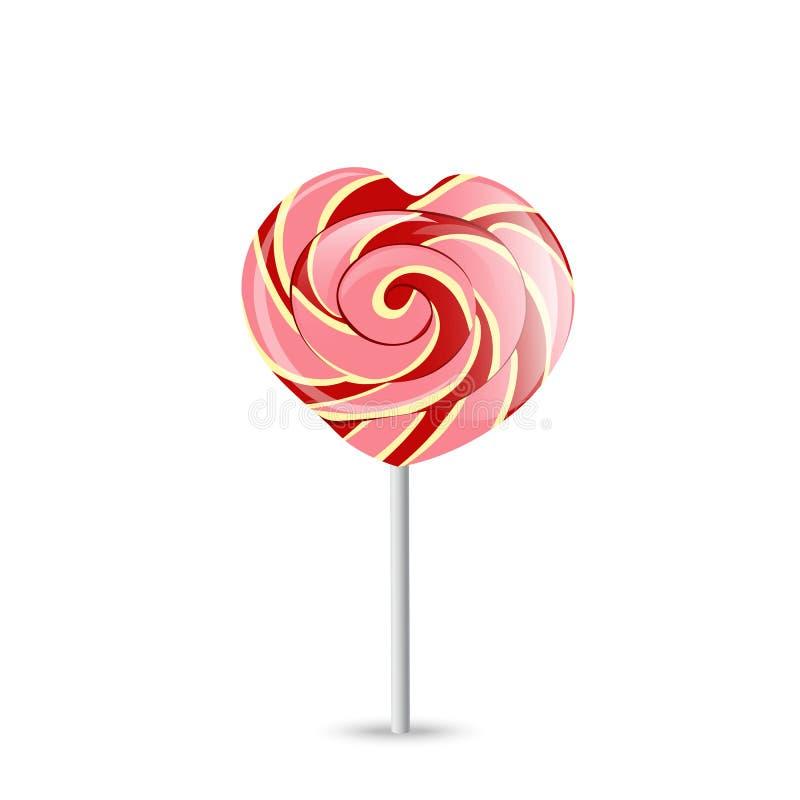 Download Lollipop Colorido No Branco Vetor EPS-10 Ilustração do Vetor - Ilustração de sucata, lolly: 107529459