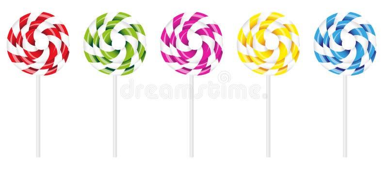 Lollipop de Swirly libre illustration