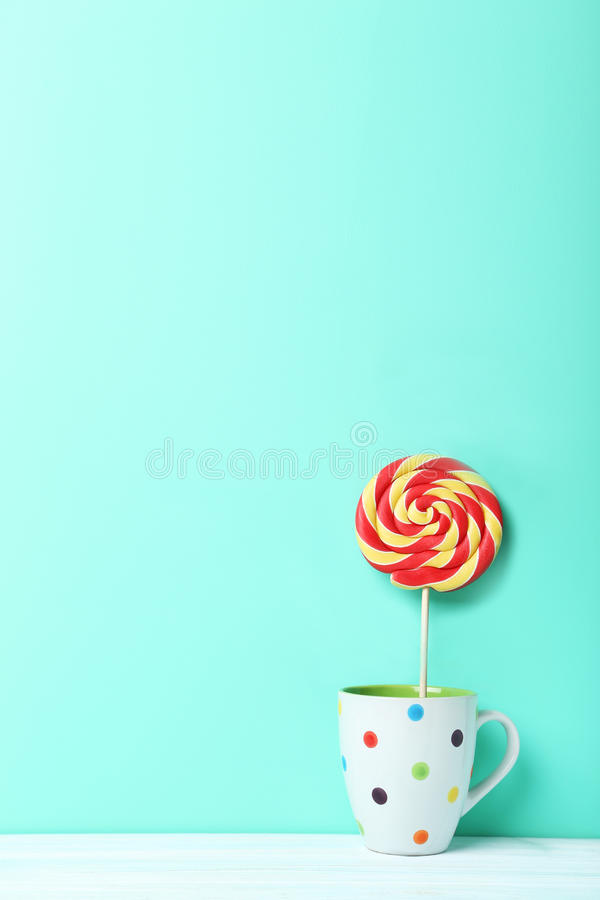 Lollipop doce fotos de stock