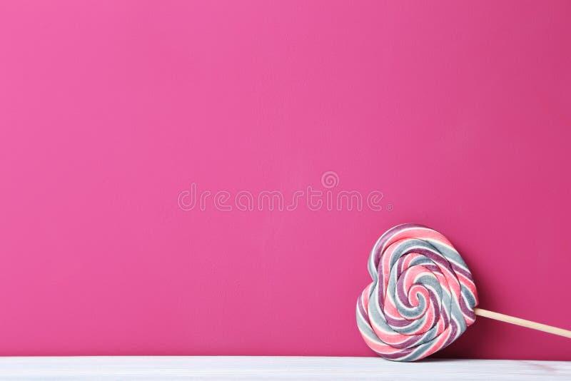 Lollipop doce foto de stock