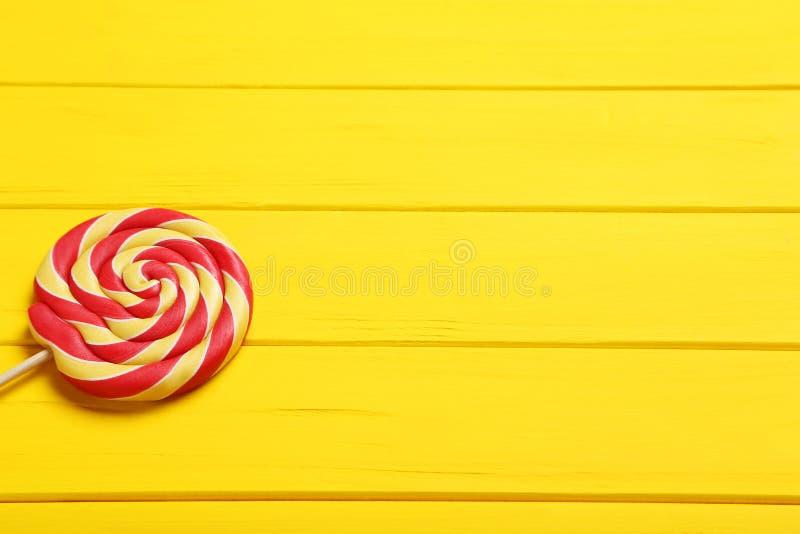 Lollipop doce imagem de stock