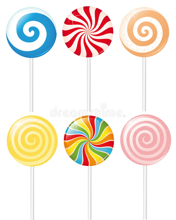 Free Lollipops Royalty Free Stock Images - 14095899