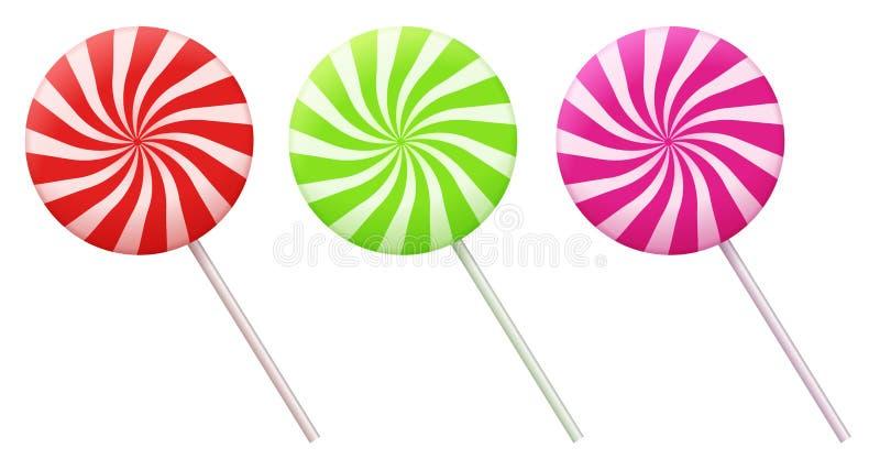 Download Lollipops stock vector. Illustration of single, pink - 23129434