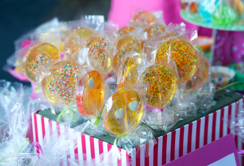 Download Lollipops stock photo. Image of pink, treat, display - 25389890